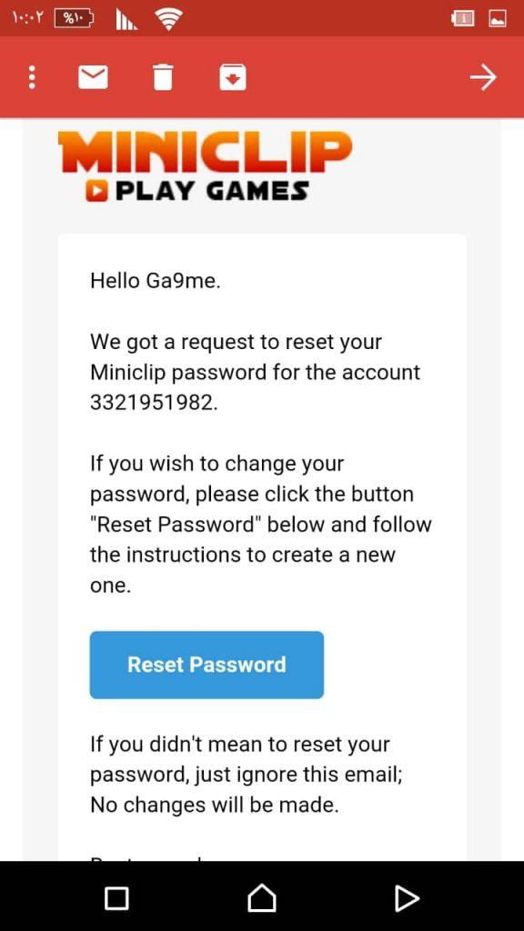 miniclip انشاء حساب
