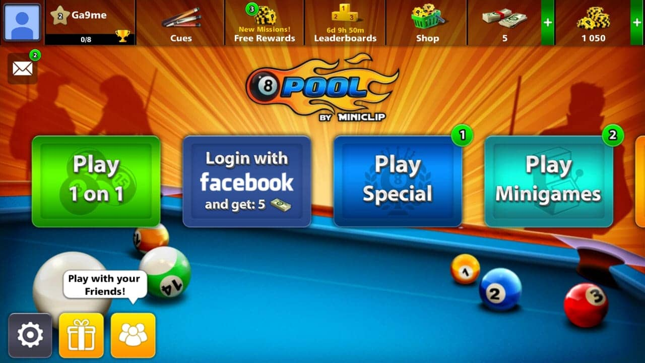 8 ball pool Miniclip account