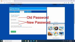 Change Password Miniclip