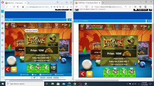 Transfer 8 ball pool coins