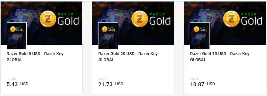 Razer gold أهم استخدامات