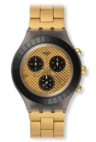 اسعار ساعة سواتش ذهبي