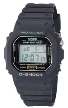 ساعة Casio DW5600E-1V