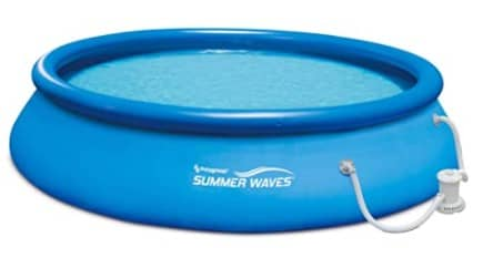 حوض سباحة منزلي