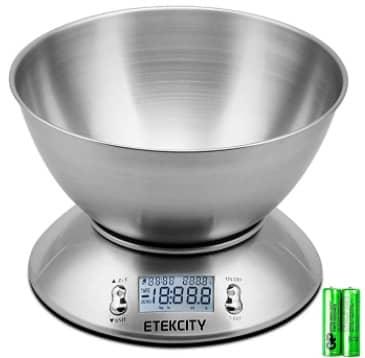 مقياس الطعام الكتروني