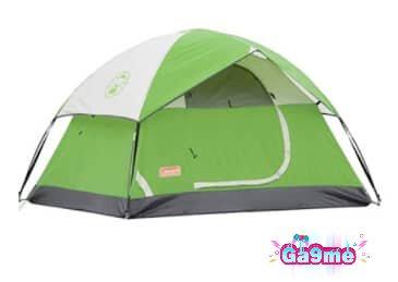 خيمة رحلات صغيرة